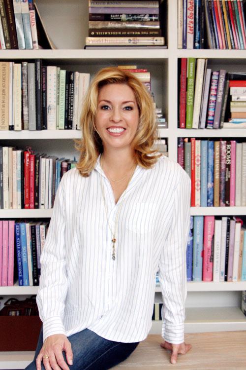 Portrait of Kira Fay in her office